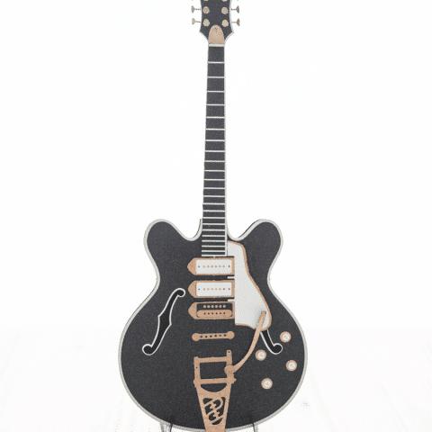 guitare rock noire