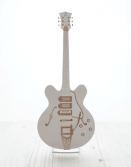 guitare papier électrique