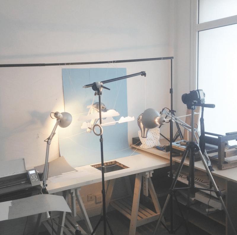 shooting making of