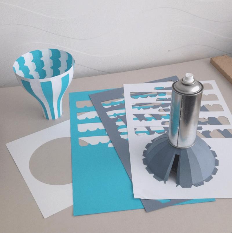 making illustration papier