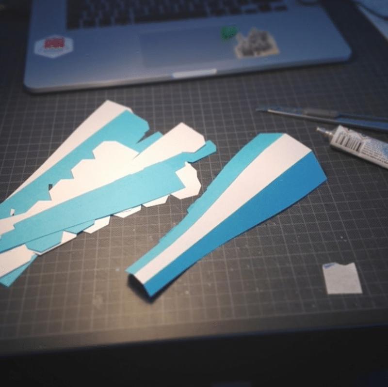 making of papier