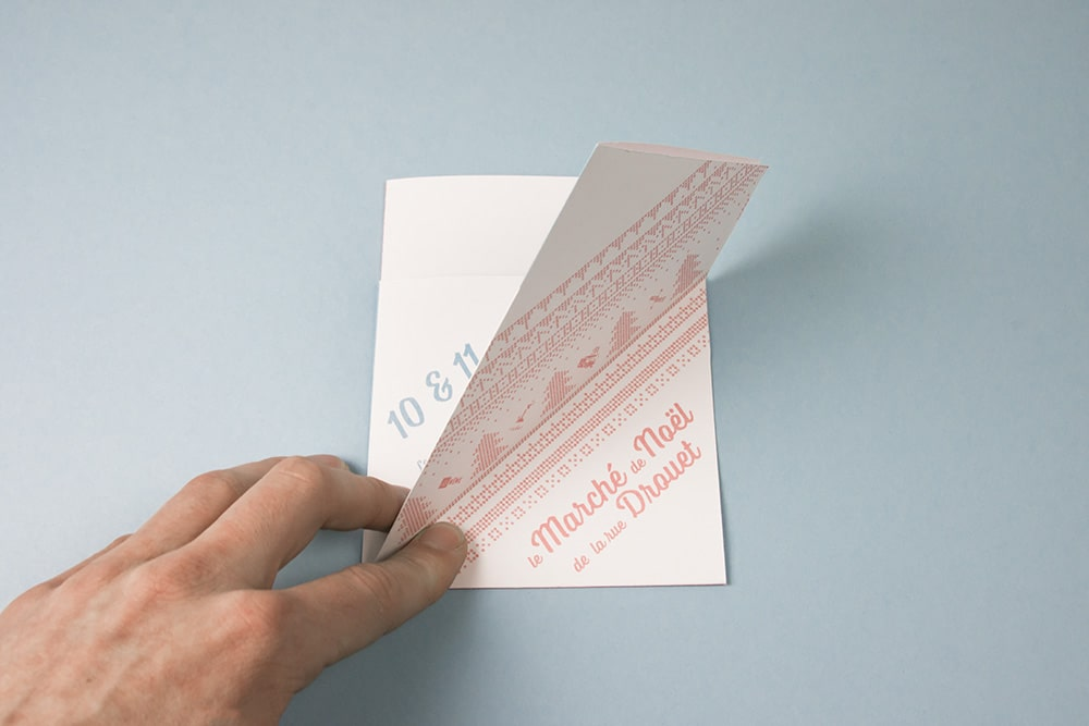 flyer créatif papier